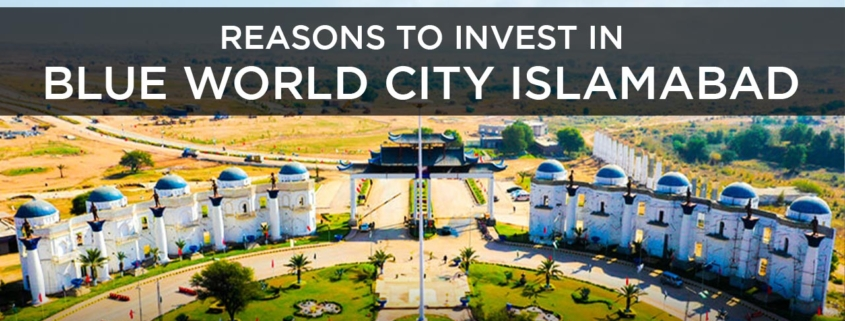 Reasons to Invest Blue World City