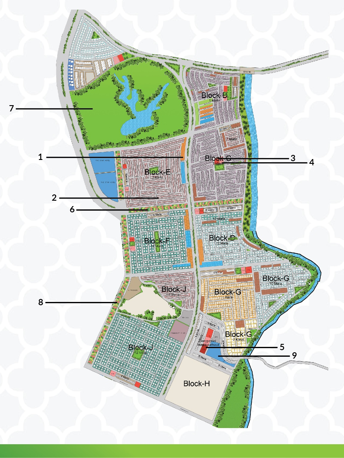 master plan of capital smart city