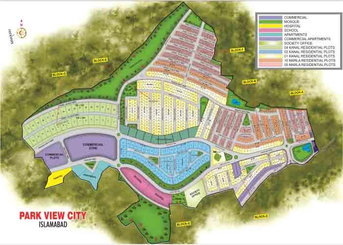 park view city master plan