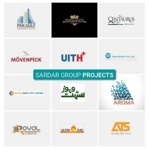 owners of taj residencia sardar group of companies