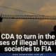 CDA to Turn in the Cases of Illegal Housing Societies to FIA