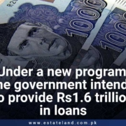 Under Kamyab Pakistan Programme the government intends to provide Rs1.6 trillion in loans