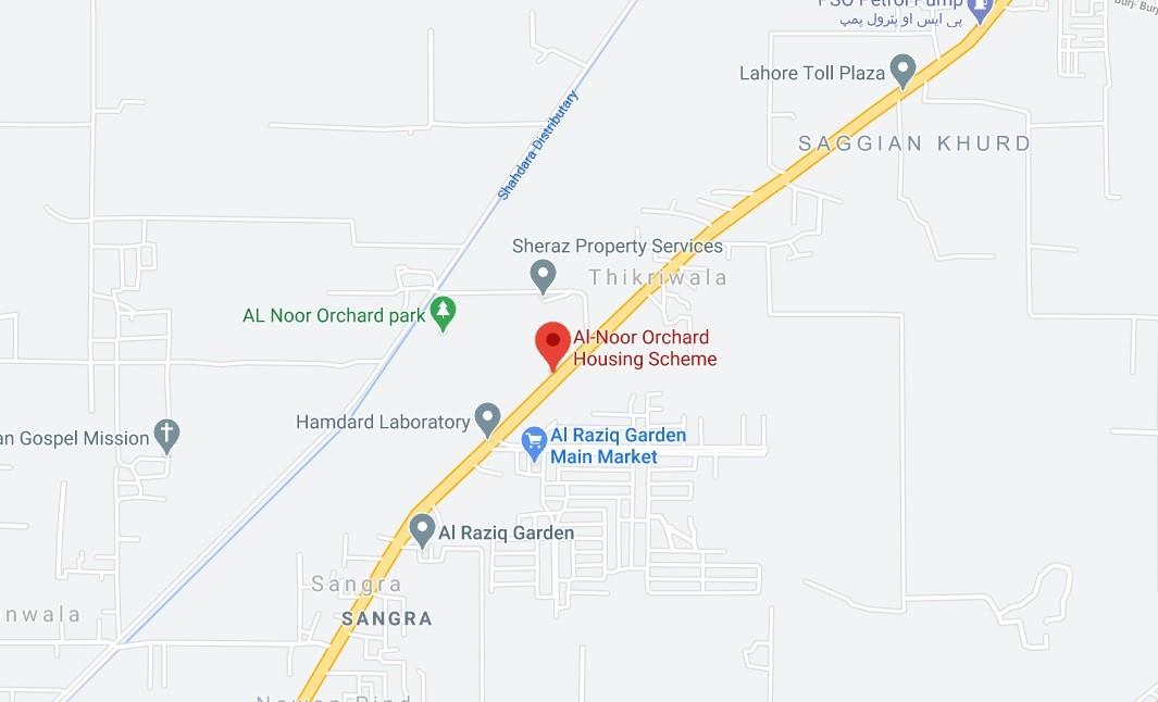 alnoor orchard location map