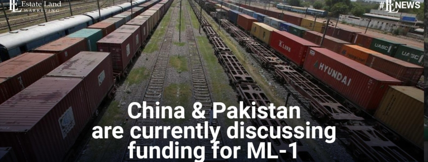 China and Pakistan are currently discussing funding for ML-1 Project
