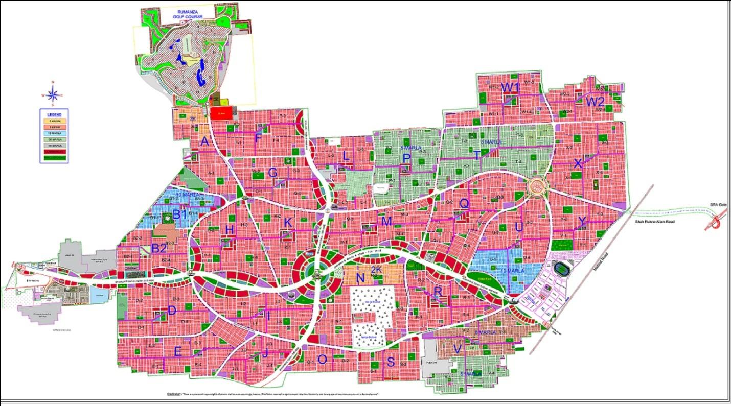 Master Plan of DHA Multan