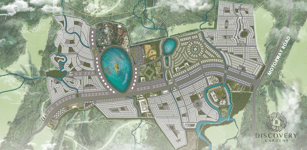 master plan of Discovery Garden Islamabad Master Plan