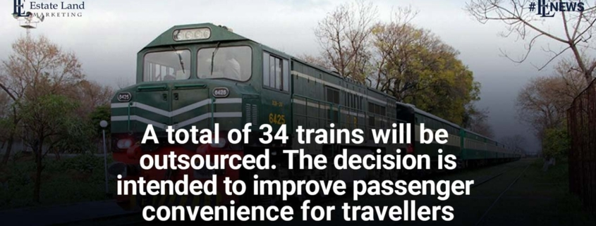 34 trains will be outsourced - Decision is intended to improve passenger convenience