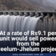 At a rate of Rs9.1 per unit would sell power from the Neelum-Jhelum project