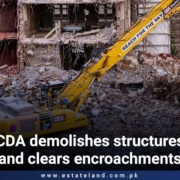 CDA demolishes structures and clears encroachments