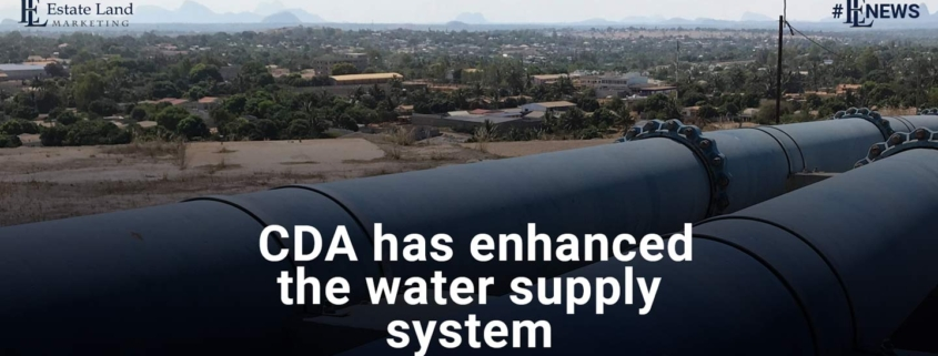 CDA has enhanced the water supply system