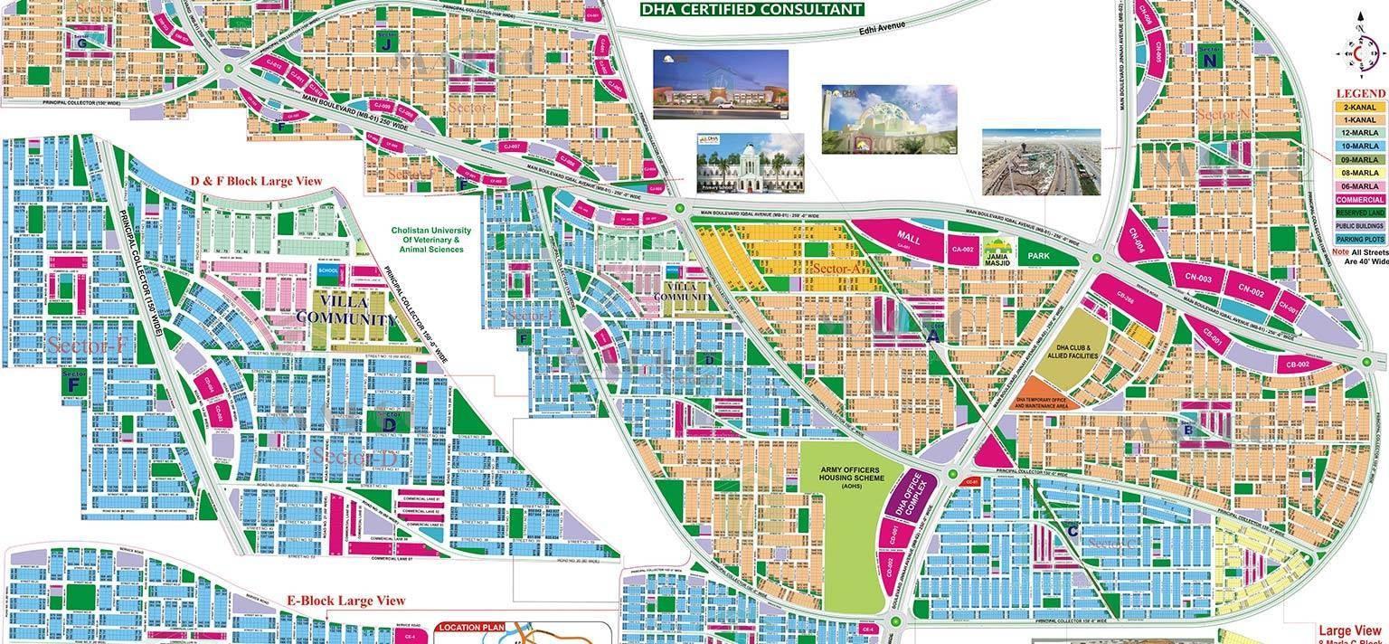 master plan of DHA Bahawalpur