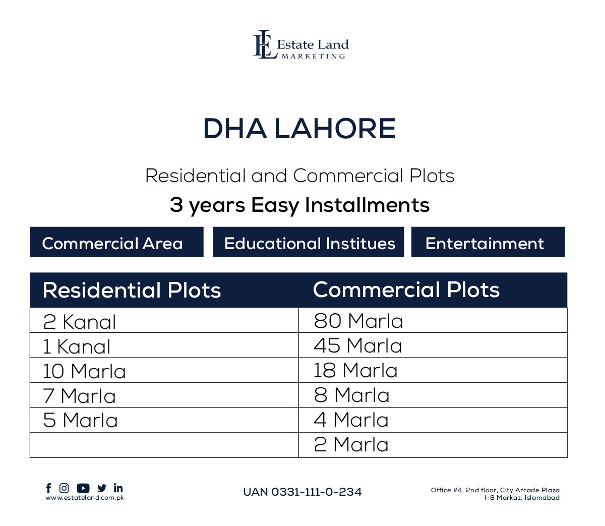 dha lahore payment plan