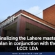 Finalizing the Lahore master plan in conjunction with the LCCI: LDA