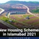New Housing Schemes in Islamabad 2021