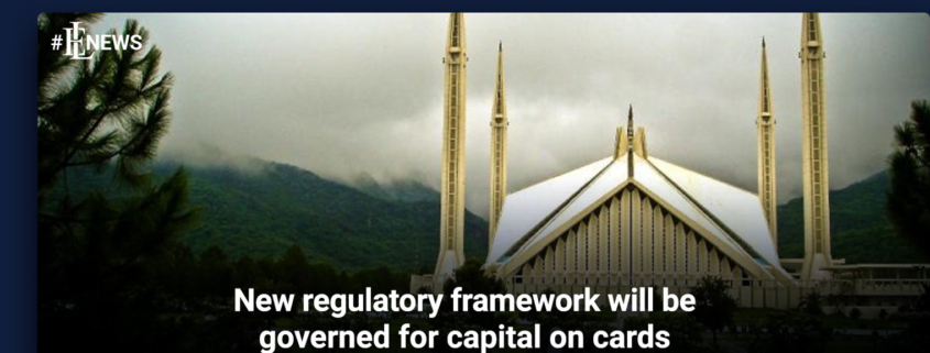 New regulatory framework will be governed for capital on cards