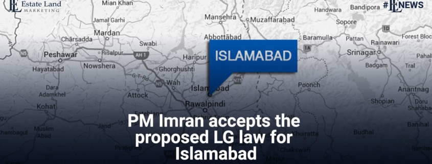 PM Imran accepts the proposed LG law for Islamabad