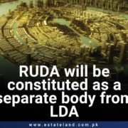Ravi Urban Development Authority will be constituted as a separate body from LDA