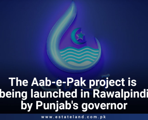 The Aab-e-Pak project is launched in Rawalpindi by the Governor of Punjab