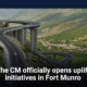 The CM officially opens uplift initiatives in Fort Munro