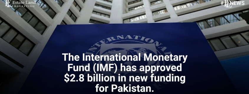 The International Monetary Fund (IMF) has approved $2.8 billion in new funding for Pakistan