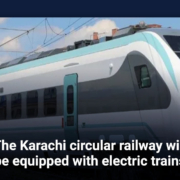 The Karachi circular railway will be equipped with electric trains