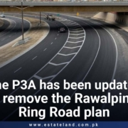 The P3A has been updated to remove the Rawalpindi Ring Road plan