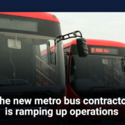 The new metro bus contractor is ramping up operations