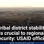 Tribal district stability is crucial to regional security: USAID official
