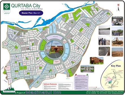 Qurtaba City master plan
