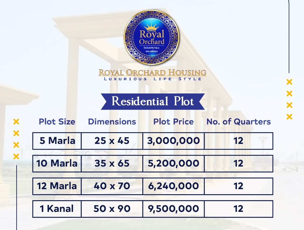 royal orchard multan payment plan