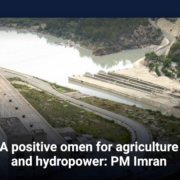 A positive omen for agriculture and hydropower: PM Imran Khan