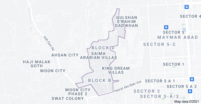 Accessibility Points of Saima Arabian Villas