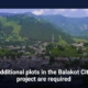 Additional plots in the Balakot City project are required