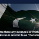 """Are there any instances in which Pakistan is referred to as """"Plotistan?"""""""