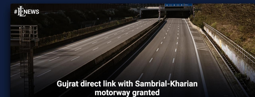 Gujrat direct link with Sambrial-Kharian motorway granted