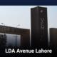 LDA Avenue Lahore