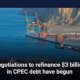 Negotiations to refinance $3 billion in CPEC debt have begun