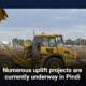 Numerous uplift projects are currently underway in Pindi