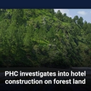 PHC investigates into hotel construction on forest land