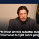 PM Imran unveils cadastral map of Islamabad to fight qabza gangs