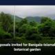 Proposals invited for Banigala-Islamabad botanical garden