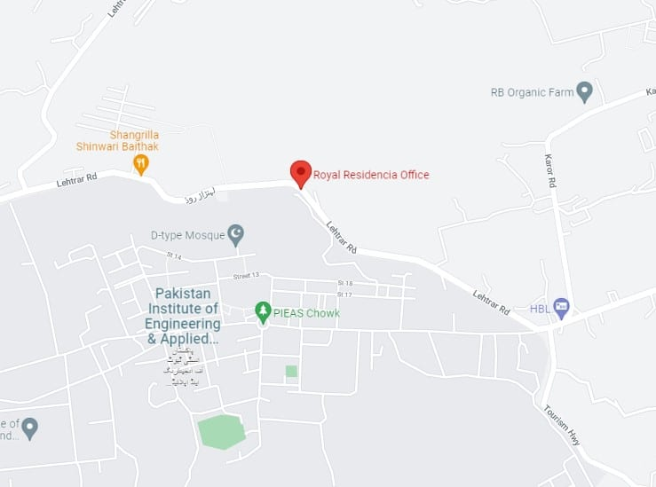 ROYAL RESIDENCIA location map