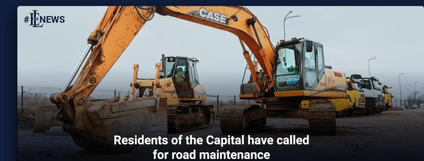 Residents of the Capital have called for road maintenance