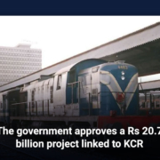 The government approves a Rs20.7 billion project linked to KCR
