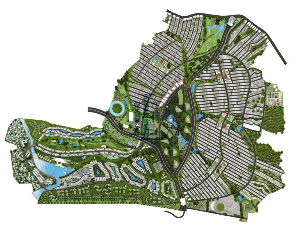 master plan of mivida city