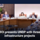 BOI presents UNDP with three infrastructure projects