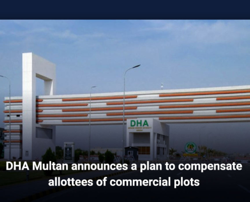 DHA Multan announces a plan to compensate allottees of commercial plots