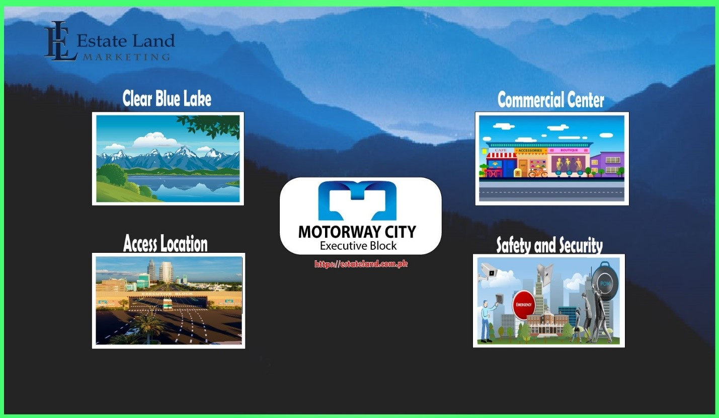 Features and facilities in Motorway City Executive Block