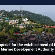 Proposal for the establishment of the Murree Development Authority