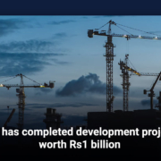 RCB has completed development projects worth Rs1 billion